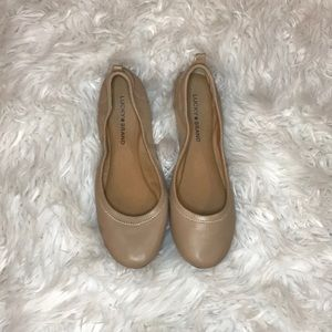 3 for $30 Lucky brand tan flats